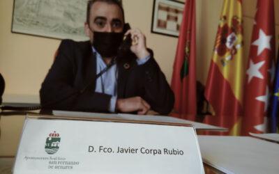 El alcalde de San Fernando de Henares, Javier Corpa, solicita el retraso de las clases previsto para este miércoles