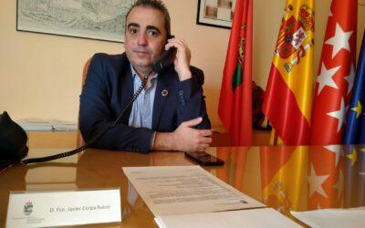 El alcalde de San Fernando de Henares, Javier Corpa, reclama un cierre perimetral ÚNICO de la ciudad que permita el desplazamiento de vecinos/as entre las dos Zonas Básicas de Salud