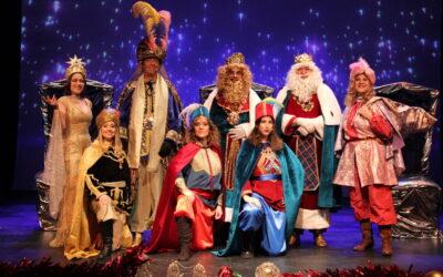 Los tres Reyes Magos envían un mensaje a los/as niños/as de San Fernando de Henares