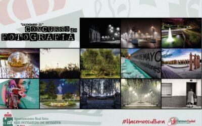 'Calendario 2021: 12 meses, 12 fotos' elaborado con las instantáneas ganadoras del certamen organizado por el área de Cultura