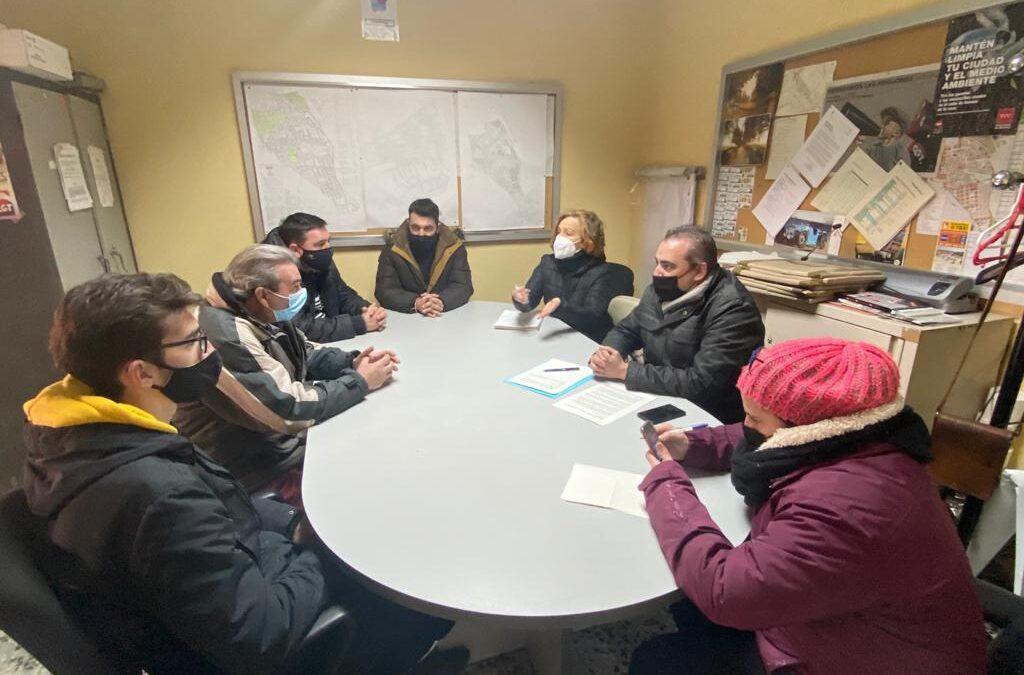 El alcalde de San Fernando de Henares, Javier Corpa, mantiene una reunión con el colectivo de agricultores/as y ganaderos/as para conocer, de primera mano, las consecuencias de la Borrasca Filomena en sus explotaciones