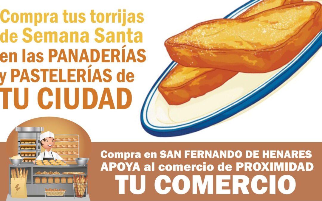 El área de Comercio emprende una campaña de promoción 'online' de las panaderías y pastelerías locales que ofrecen torrijas y panes para su elaboración en estas jornadas