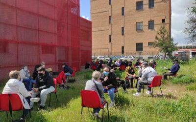 Los/as mayores de San Fernando de Henares y los/as estudiantes del IES Miguel Catalán comparten experiencias en torno al proyecto 'Memoria Histórica', enmarcado en la propuesta educativa 'Aprendizaje y Servicio'