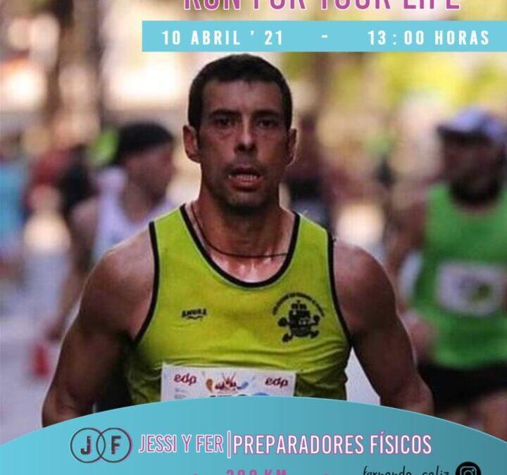 Fernando Caliz correrá 200 kilómetros en 24 horas para visibilizar el párkinson, donando parte de los fondos recaudados a la ONG Sonrisa Digna