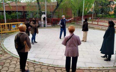 La Concejalía de Mayores retoma las actividades al aire libre con grupos reducidos y siguiendo todas las normas anticovid de las autoridades sanitarias