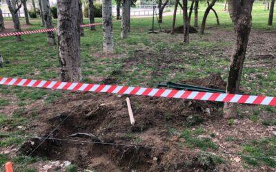 El Ayuntamiento de San Fernando de Henares inicia los trabajos para la creación de una nueva área canina en el Parque Dolores Ibárruri