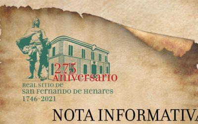 NOTA INFORMATIVA: Normas en los conciertos enmarcados en el programa de inauguración de actividades conmemorativas por el 275 aniversario de la fundación de la ciudad