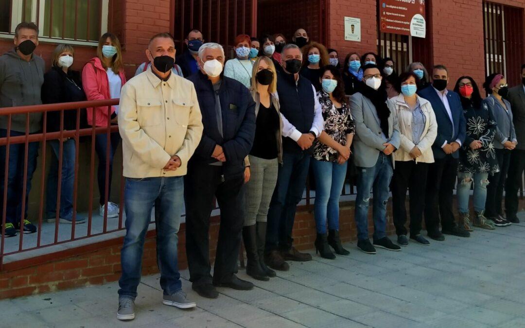 Emocionante y sentido acto de reconocimiento a los/as trabajadores/as de Servicios Sociales por su espectacular labor en la pandemia