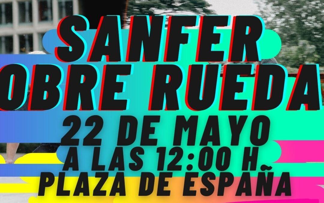 La Concejalía de Juventud pone en marcha 'Sanfer Sobre Ruedas', una iniciativa para disfrutar al aire libre y promover transportes sostenibles