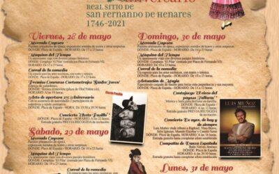 Programa de actividades que inauguran los actos conmemorativos por el 275 aniversario de la fundación de la ciudad