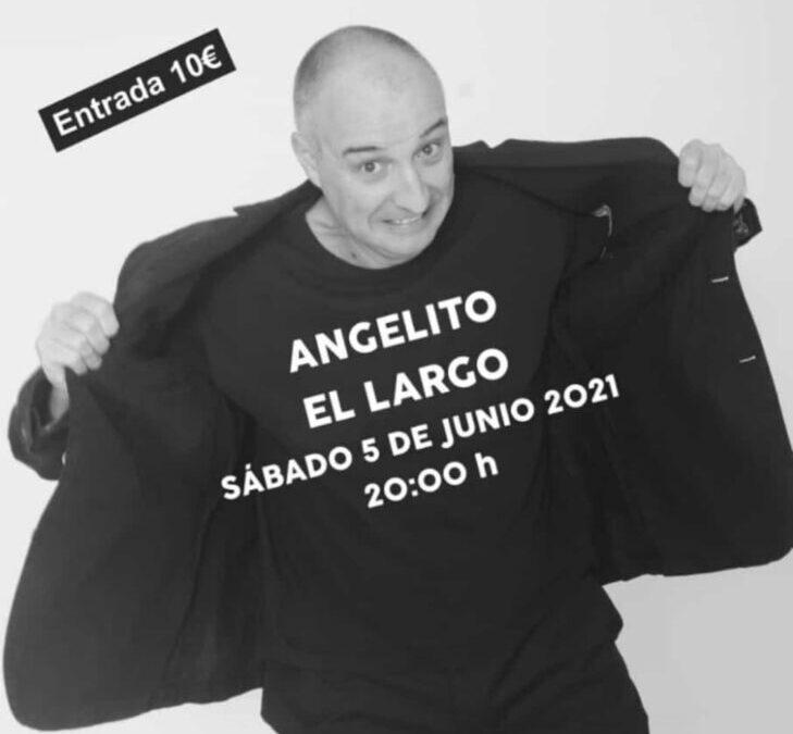 'Angelito El Largo' subirá el telón del Teatro Federico García Lorca este sábado