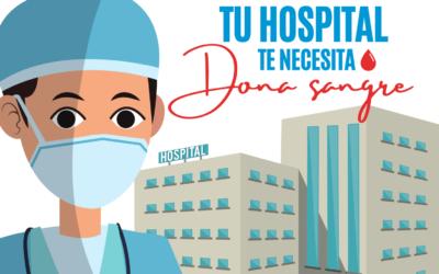 El Ayuntamiento de San Fernando de Henares anima a los/as vecinos/as a donar sangre para ayudar a cubrir las necesidades hospitalarias