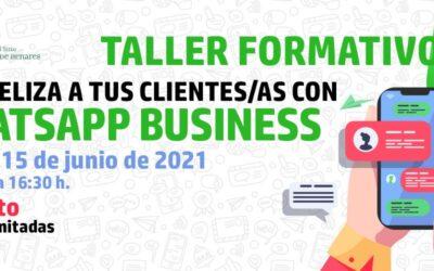 La Concejalía de Comercio pone en marcha una nueva acción formativa: gratuita 'Fideliza a tus clientes/as con WhatsApp Business'