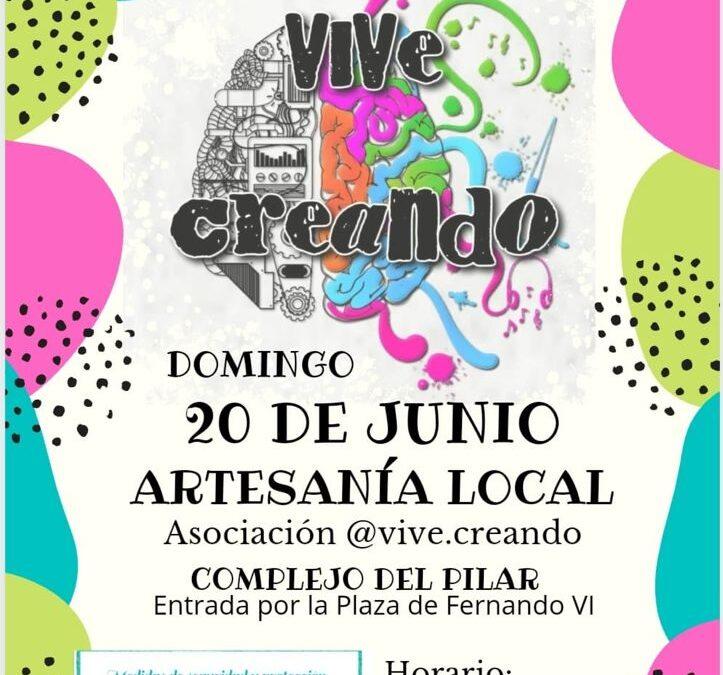 Regresa la Muestra de Artesanía de la Asociación 'Vive Creando', que se desplaza hasta el complejo 'El Pilar' para garantizar la normativa anticovid
