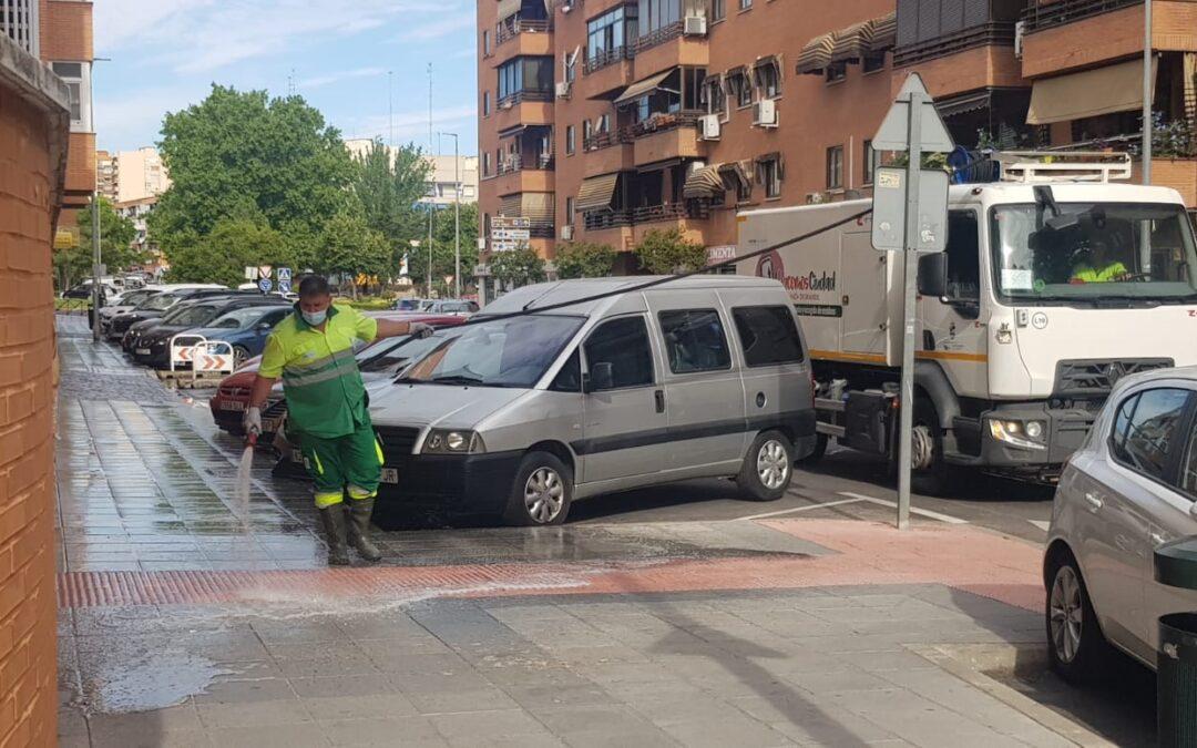 El Ayuntamiento de San Fernando de Henares pone en marcha el VI Plan Municipal de Limpieza Integral que finalizará el próximo 27 de julio