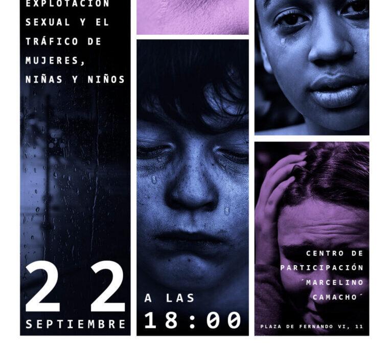 El Ayuntamiento de San Fernando de Henares se une a la conmemoración del Día Internacional contra la Explotación Sexual y el Tráfico de Mujeres y Niños/as con un interesante y pionero 'Foro de Debate y Reflexión'