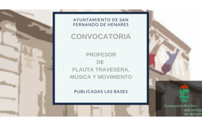 Resultado  definitivo comisión de valoración  Profesor/a de Flauta travesera, música y movimiento