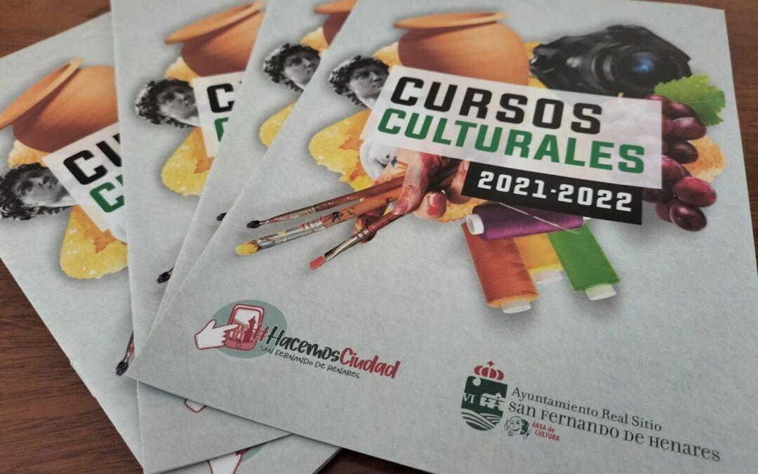 La Concejalía de Cultura arranca la temporada 2021-2022 con un completo catálogo de cursos y talleres