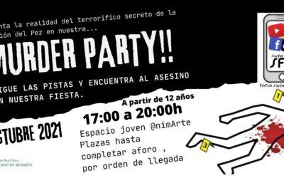 La Concejalía de Juventud celebrará 'Halloween' con una 'Murder Party'